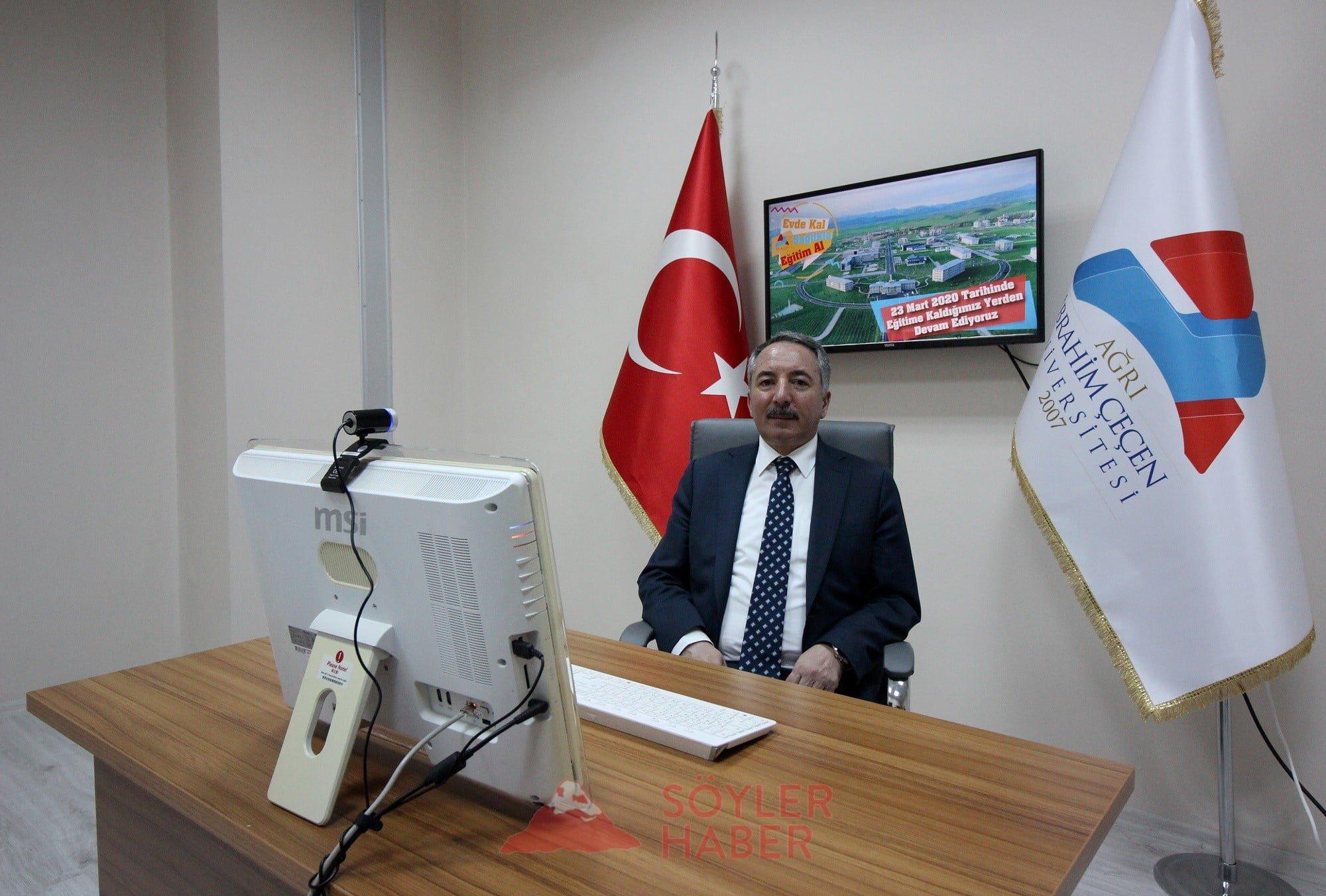 AİÇÜ RAKTÖRÜ PROF.DR.KARABULUT'UN BAYRAM MESAJI
