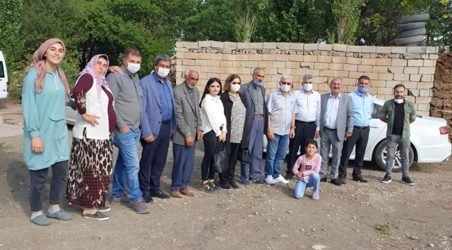 AK Parti Doğubayazıt İlçe Teşkilatının Köy Ziyaretleri Devam Ediyor