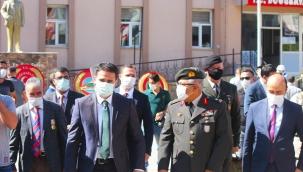 Doğubayazıt'da 19 Eylül Gaziler Günü'nün 99'uncu Yıldönümü, Düzenlenen Törenle Kutlandı.