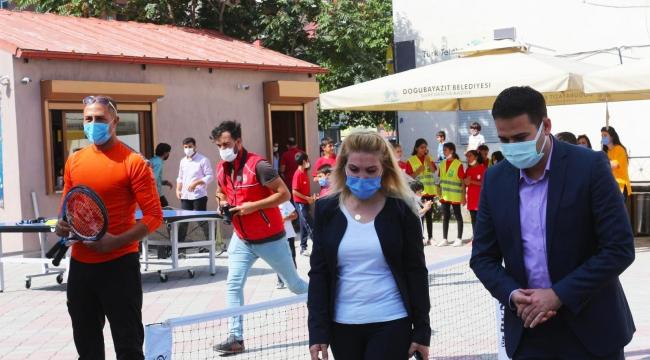 Doğubayazıt'da Avrupa Spor Haftası etkinliği yapıldı