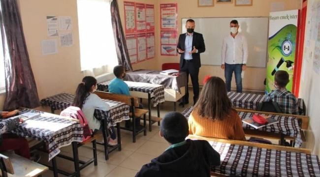 Ağrı'da Yüz Yüze Eğitime Geçişte İkinci Aşama Başladı