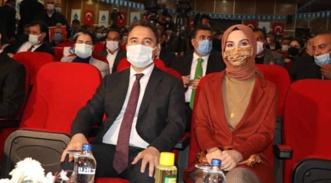 (DEVA) Partisi Genel Başkanı Ali Babacan, Ağrı İl Kongresine katıldı.