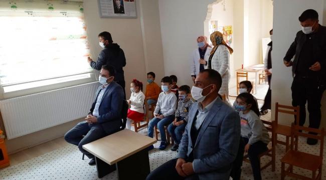 KAYMAKAM AKPINAR ADEM'İ ZİYARET ETTİ