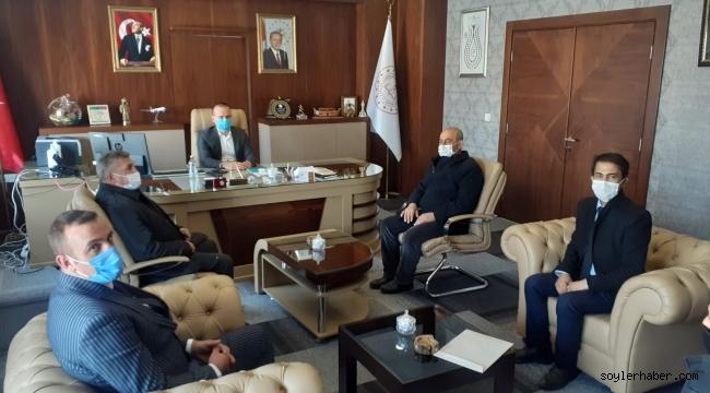 Anadolu Ölümsüz Kahramanlar Federasyonu Genel Başkanı Çelebi'den, Ağrı Milli Eğitim Müdürü Tekin'e ziyaret