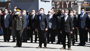 Doğubayazıt'ın Düşman İşgalinden Kurtuluşunun 103. Yıl Dönümü Münasebetiyle kutlama töreni düzenlendi.