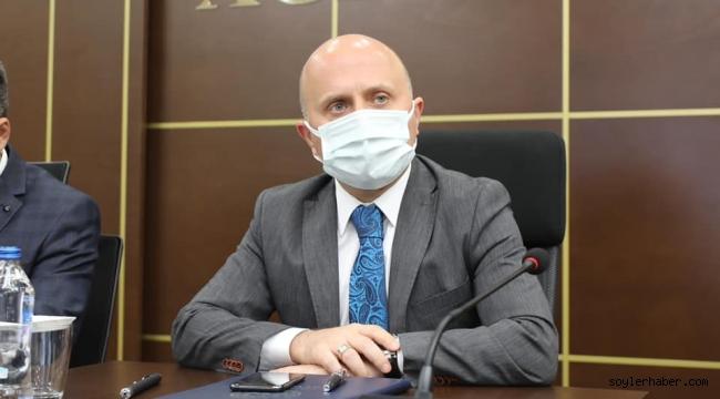Ağrı'da Vali Osman Varol'un başkanlığında Covid-19 Değerlendirme Toplantısı düzenlendi.