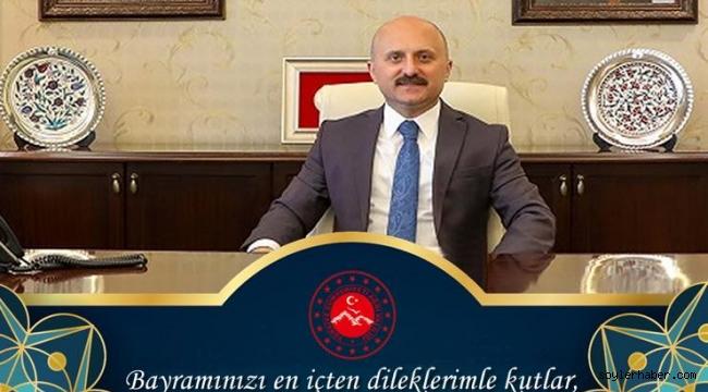 Ağrı ValisiDr. Osman Varol, Kurban Bayramı dolayısıyla bir mesaj yayımladı.