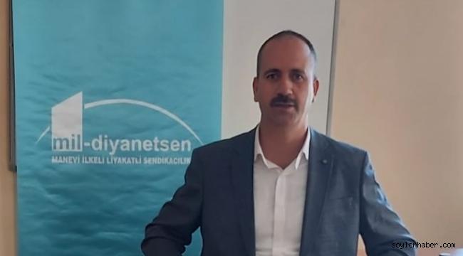 Mil-Diyanet Doğubayazıt İlçe Başkanı Mehmet Emin İçten'in Basın Bayramı Mesajı