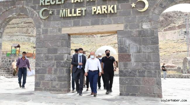 Vali Varol, Doğubayazıt İlçe Kaymakamı Mehmet Kemal Akpınar ile Birlikte Doğubayazıt'ta Bir Dizi Ziyaret Gerçekleştirdi