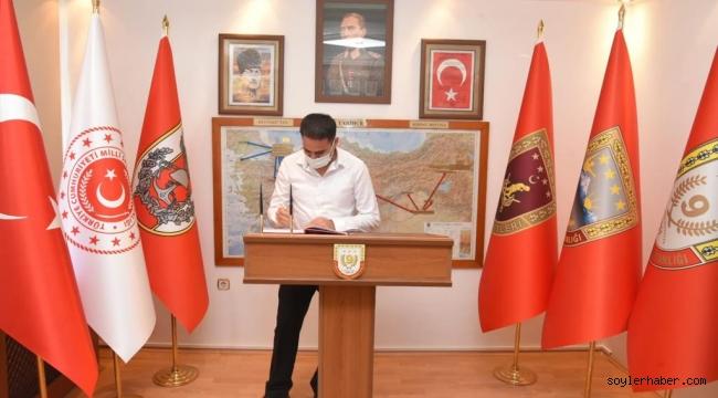 KAYMAKAM AKPINAR'DAN PAŞA ŞÜKRÜ ÖZBAKIR'A HAYIRLI OLSUN ZİYARETİ